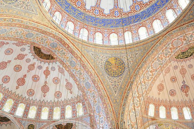 Blue Mosque via Handmade Love