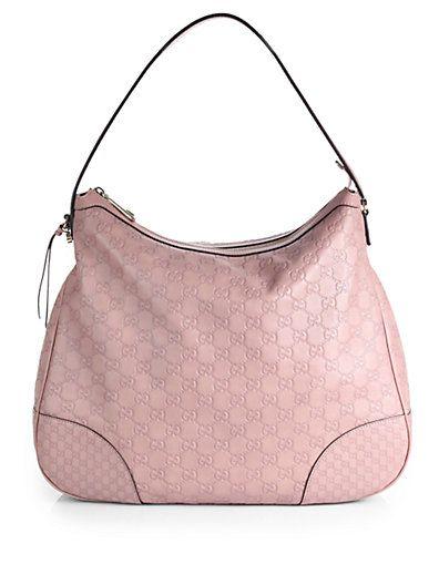 8f5c0c76a85 Gucci - Bree Guccissima Leather Hobo - Saks.com