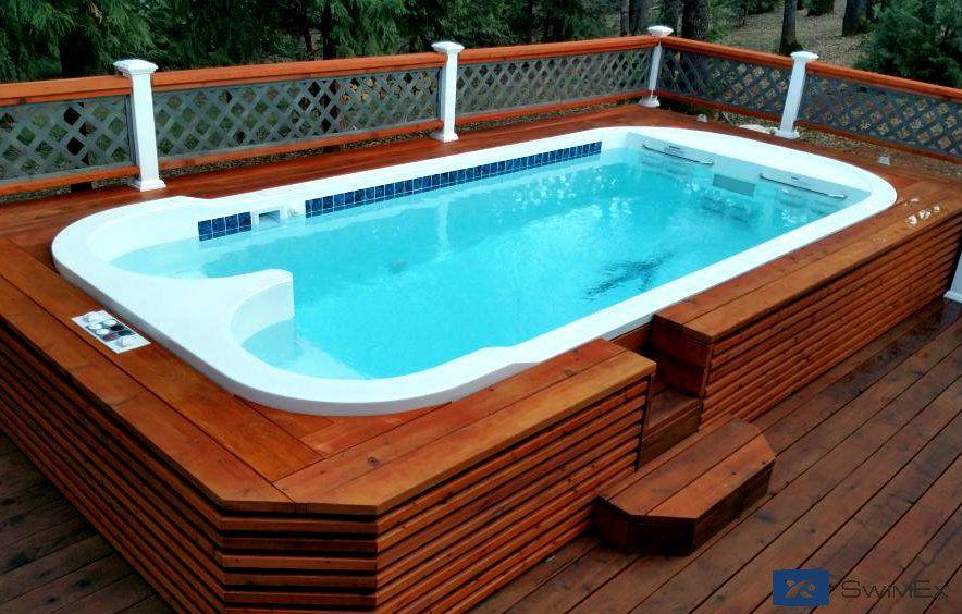 Triton residential swim Spa and Fitness Pool | Stunning Swim ...