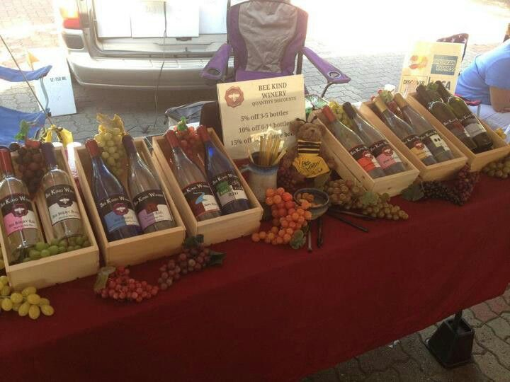 Bee Kind Winery, State College PA. A Juniata Farmers Market vendor