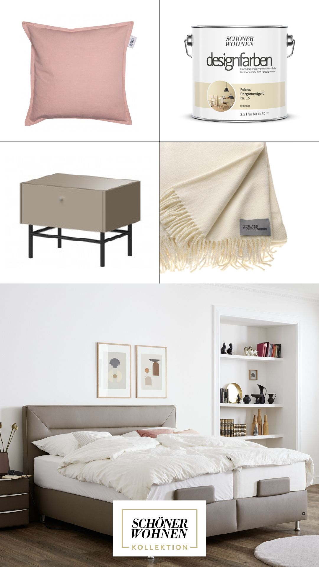 Schoner Wohnen Kollektion Boxspringbett Ever Wohnen Schlafzimmer Einrichten Warme Bettwasche