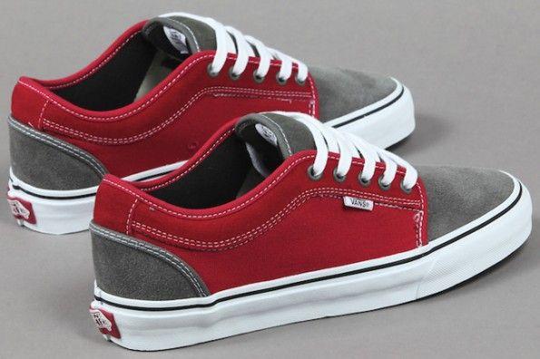 17ffaf250b Massimo Cavedoni x Vans Chukka Low – Grey Red