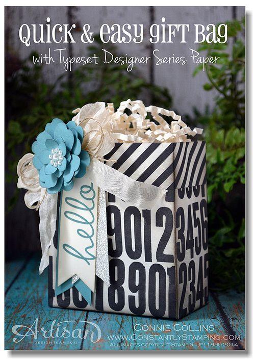 AWW - Easy Peasy Gift Bag