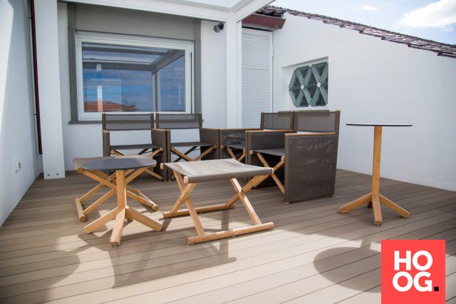 Luxe dakterras met lounge meubels | veranda ideas outdoor | veranda ...