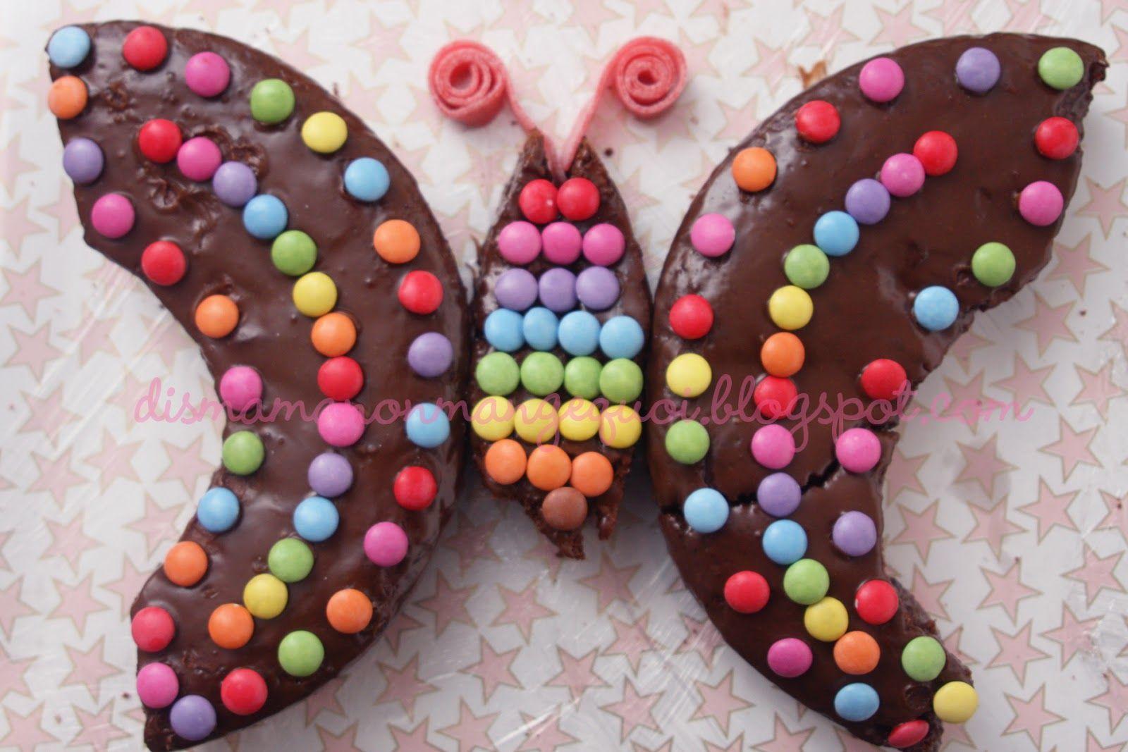 Gateau papillon enfants pinterest g teau papillon - Decoration gateau papillon ...