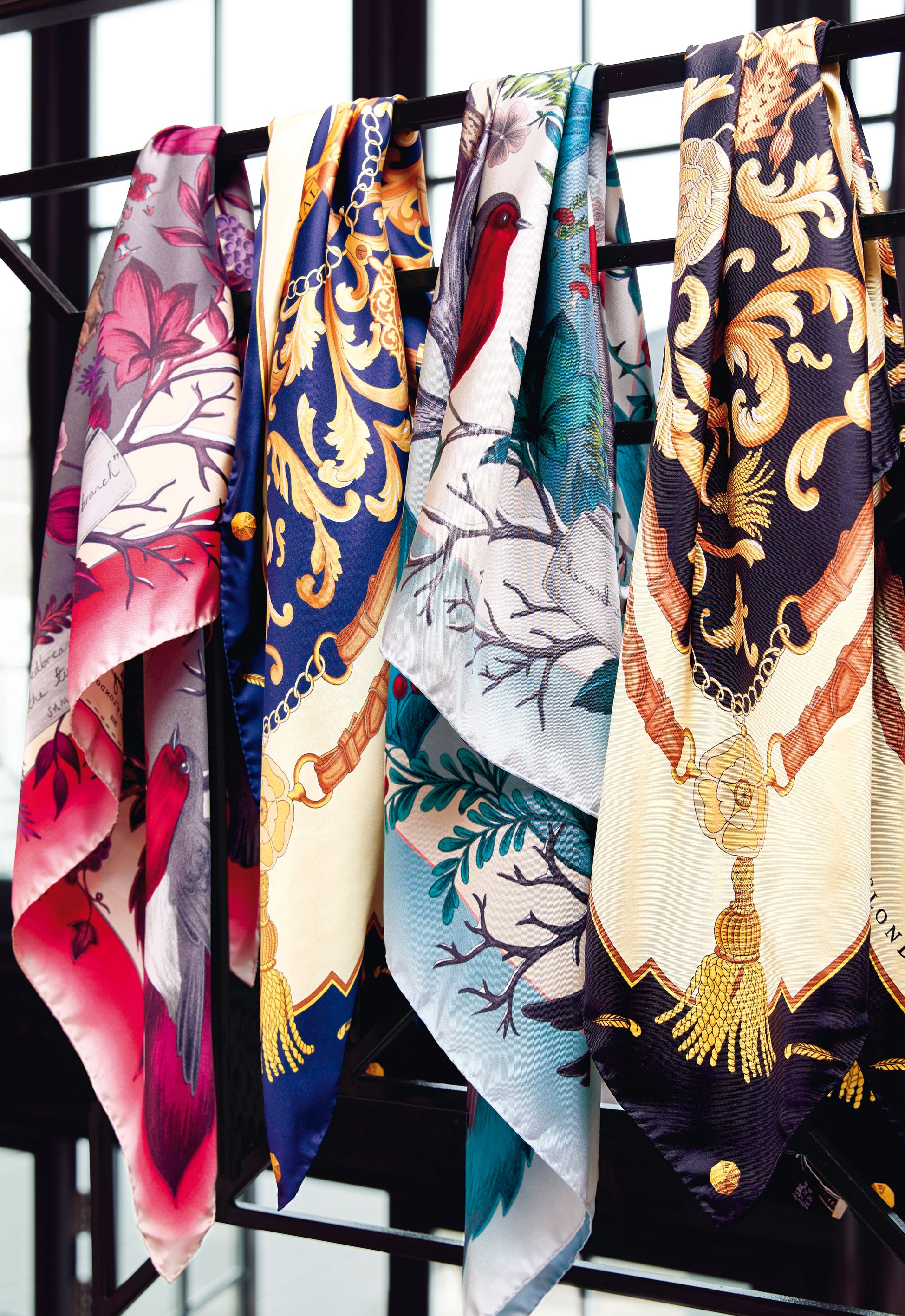 32666da9c Aspinal present our beautiful collection of quality pure silk scarves in a  range of gorgeous designs