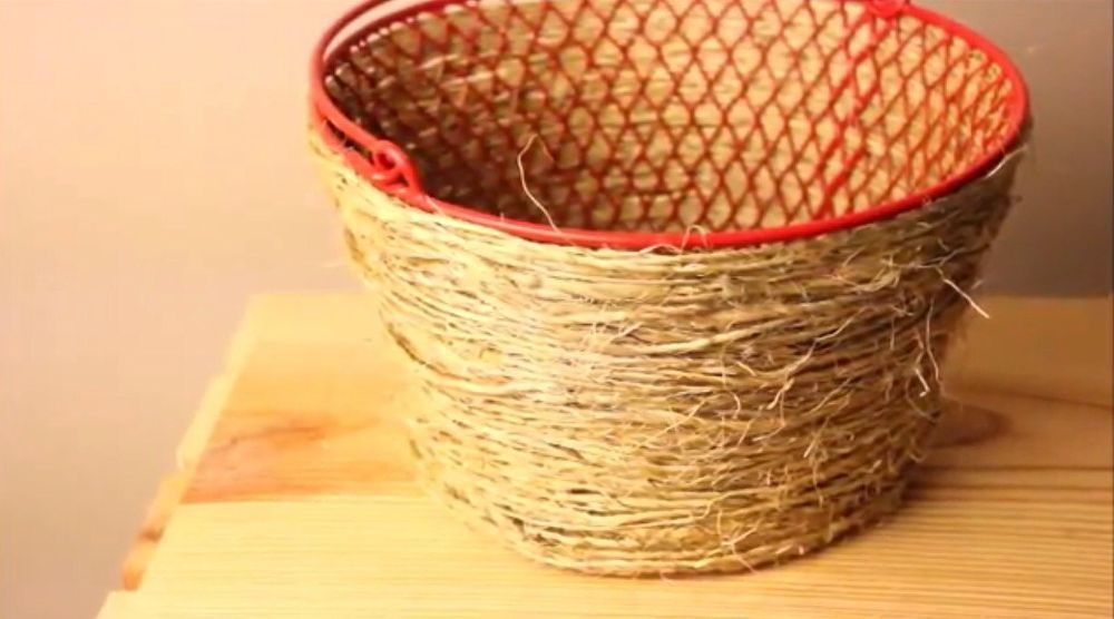 Diy Pottery Barn Basket Only 2 From Dollar Tree