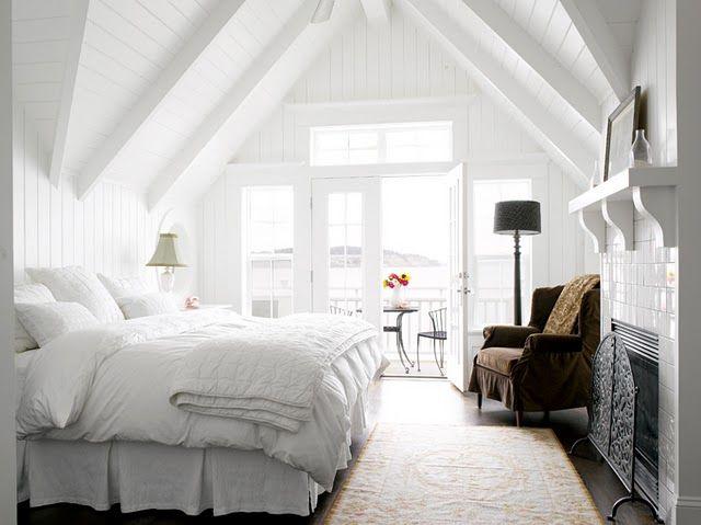 Strandhaus Einrichtungsideen Pinterest Strandhäuser und - schlafzimmer romantisch dekorieren
