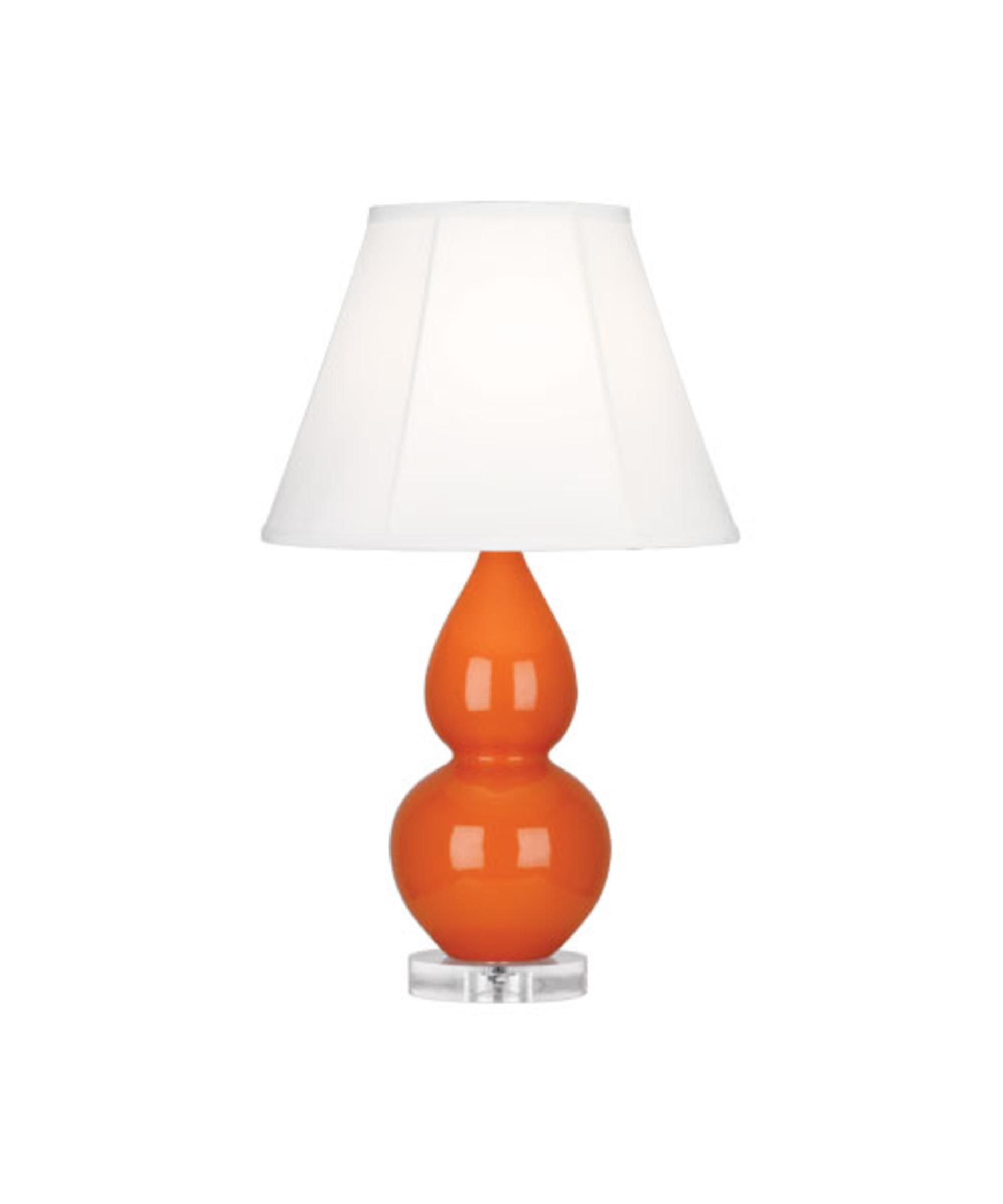Robert abbey a695 small double gourd 22 inch table lamp