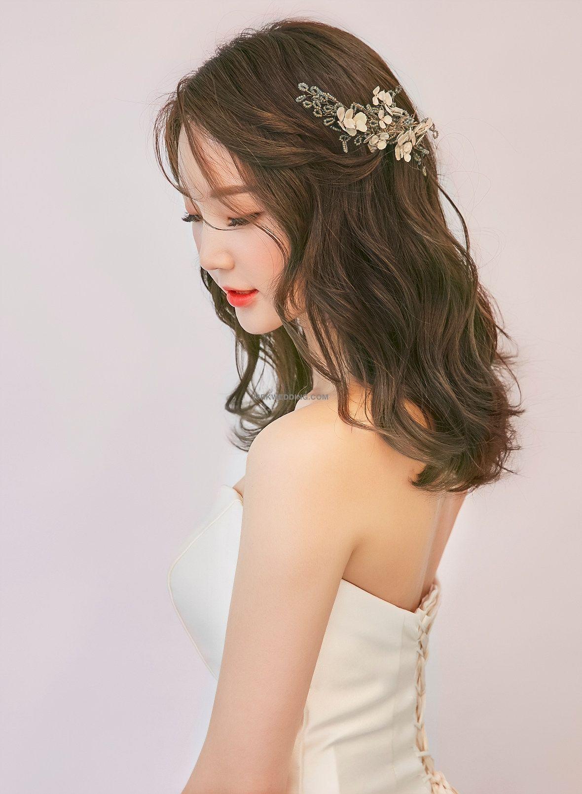 Korea Famous Beauty Salon Culture And Nature 2019 Wedding Package Mr K Korea Pre Wedding Every Asian Bridal Hair Asian Wedding Hair Korean Wedding Hair