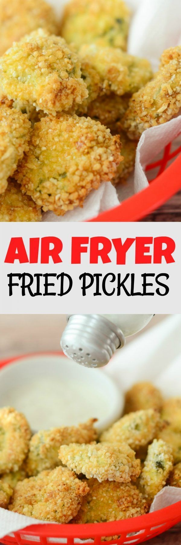 Gluten Free Air Fryer Fried Pickles Make them Gluten