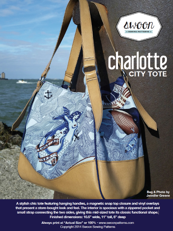 Swoon Charlotte City Tote | Charlotte city, Patterns and Bag