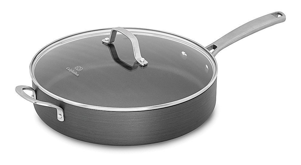 95 Calphalon 5 Qt Commercial Hard Anodized Saute Pan By Calphalon Http Www Amazon Com Dp B005dyk94k Ref Cm Sw R Pi Dp D03xrb1gm Saute Pan Calphalon Saute
