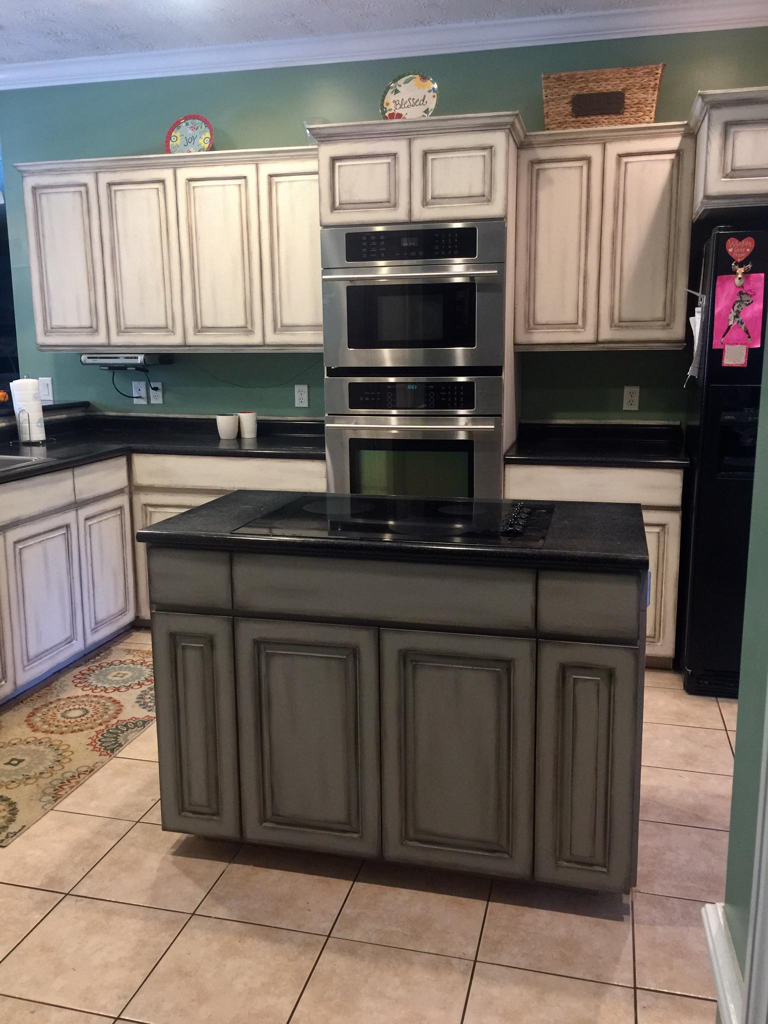 Dixie Belle Dropcloth cabinets Paintiques by Lisa Harrison ...