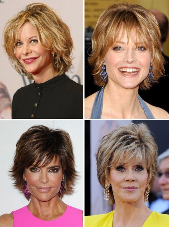 стрижки для среднего возраста женские