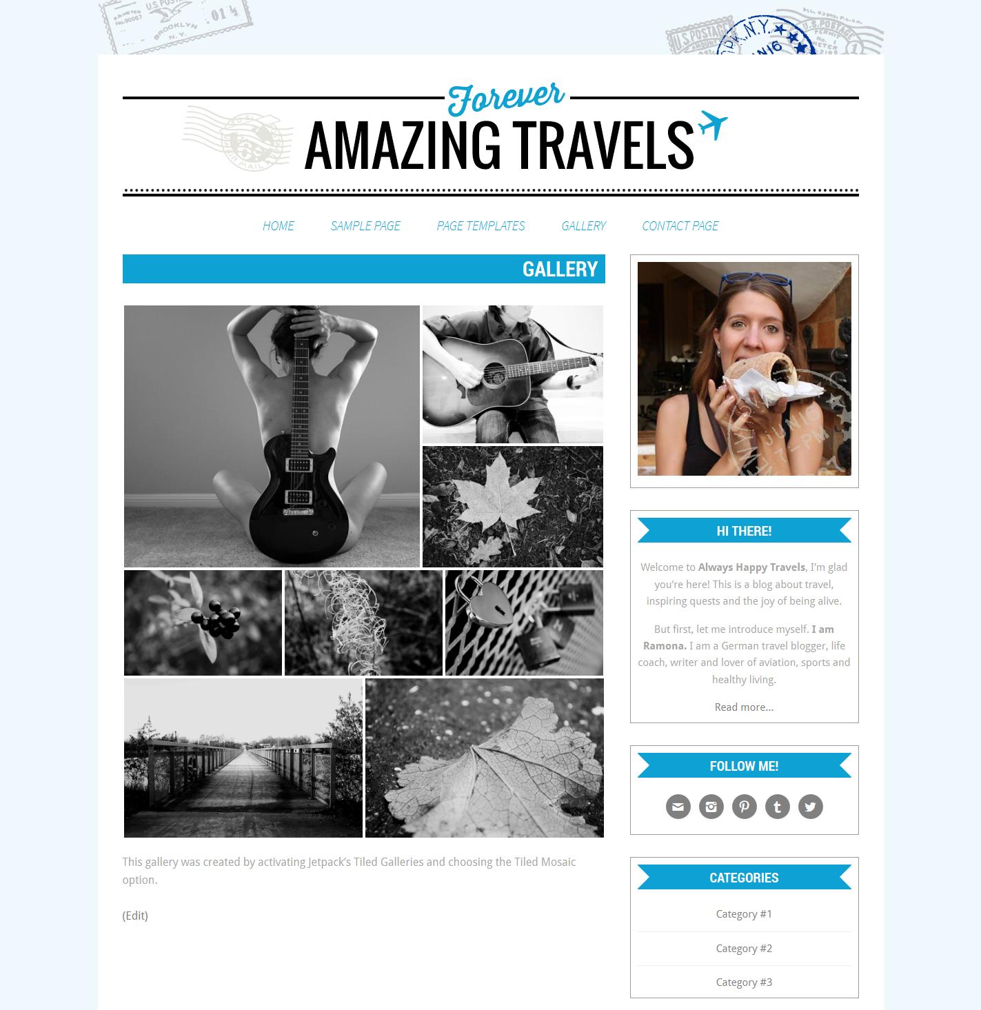 Wordpress Theme, Responsive, Wordpress Blog Template, Genesis Child ...
