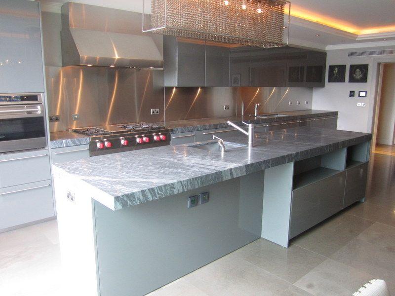 £300,000 Show Stopping Boffi Kitchen   Wolf U0026 Sub Zero Appliances
