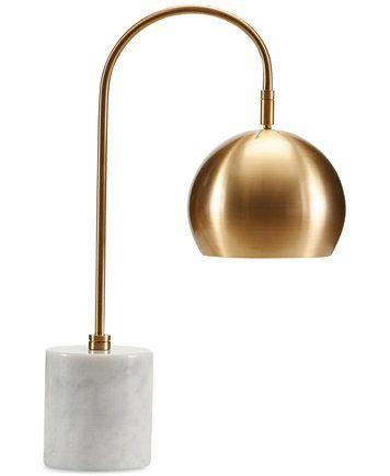 Madison park signature halsey marble brass table lamp macys com