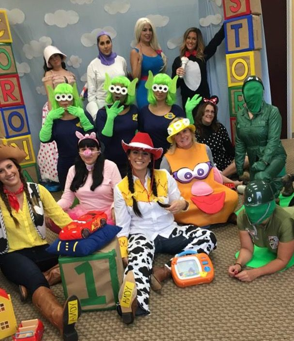 Toy Story group Halloween costumes!