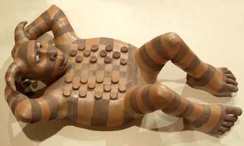 roxanne swentzell | Sculpture by Roxanne Swentzell, photo courtesy Roxanne Swentzell.