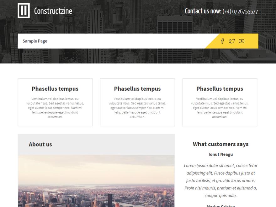 WordPress › Constructzine Lite « Free WordPress Themes   WP temy ...