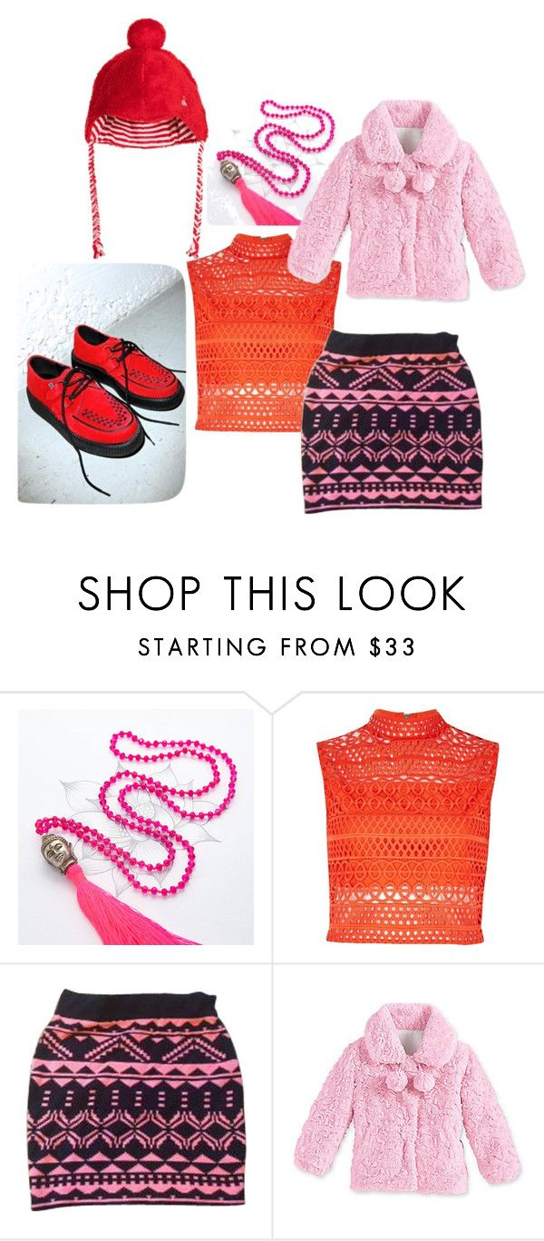 """""""YOU'RE STANDING ON A LANDMINE"""" by mandalinaqitrydewi on Polyvore featuring River Island, Topshop and T.U.K."""