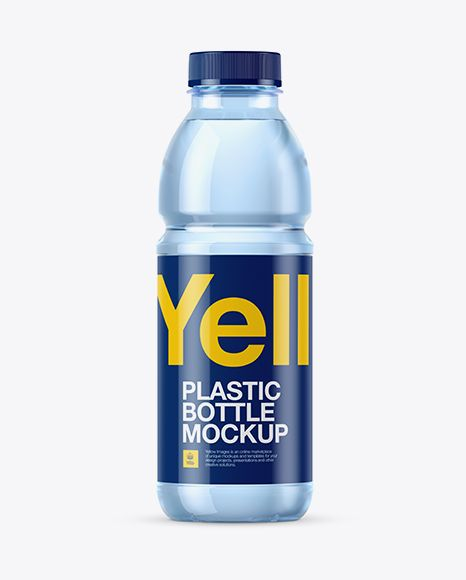 Download Blue Pet Bottle With Water Mockup In Bottle Mockups On Yellow Images Object Mockups Bottle Mockup Mockup Free Psd Bottle