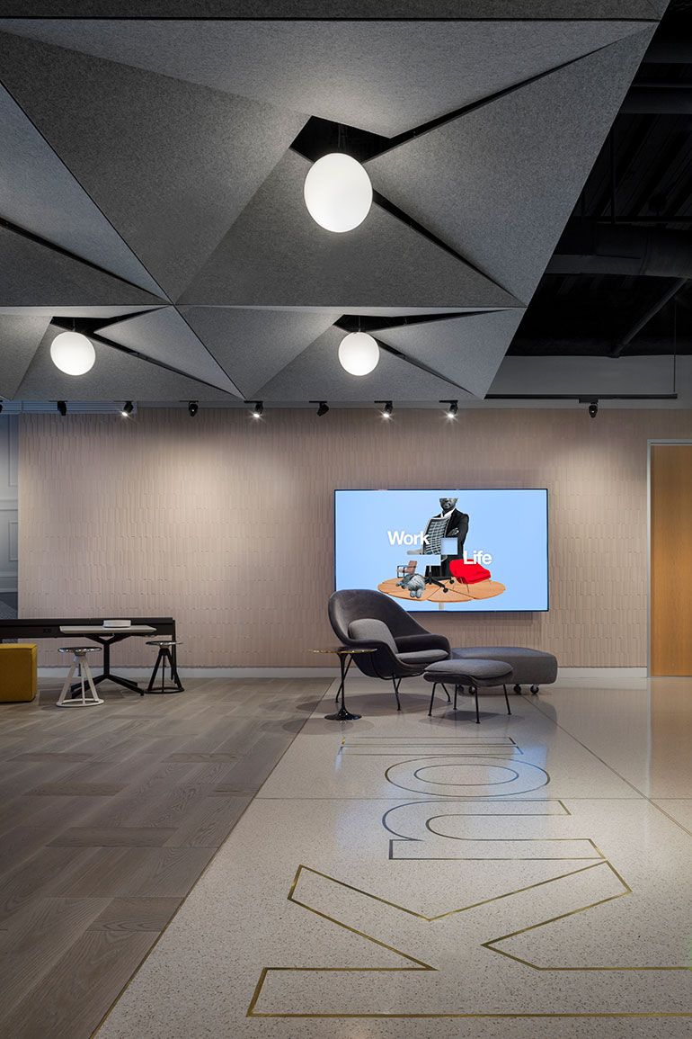Aro celebrates knoll s history and future in downtown los for Design consultant los angeles