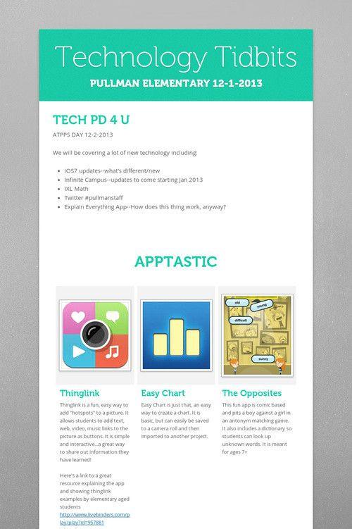 Technology Tidbits Ixl math, Explain everything app