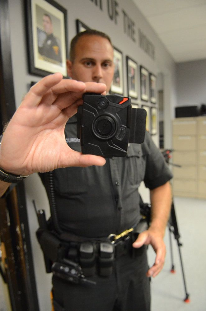 Camden County Police Testing Body Cameras On Officers Body Worn Camera Body Wearable Tech