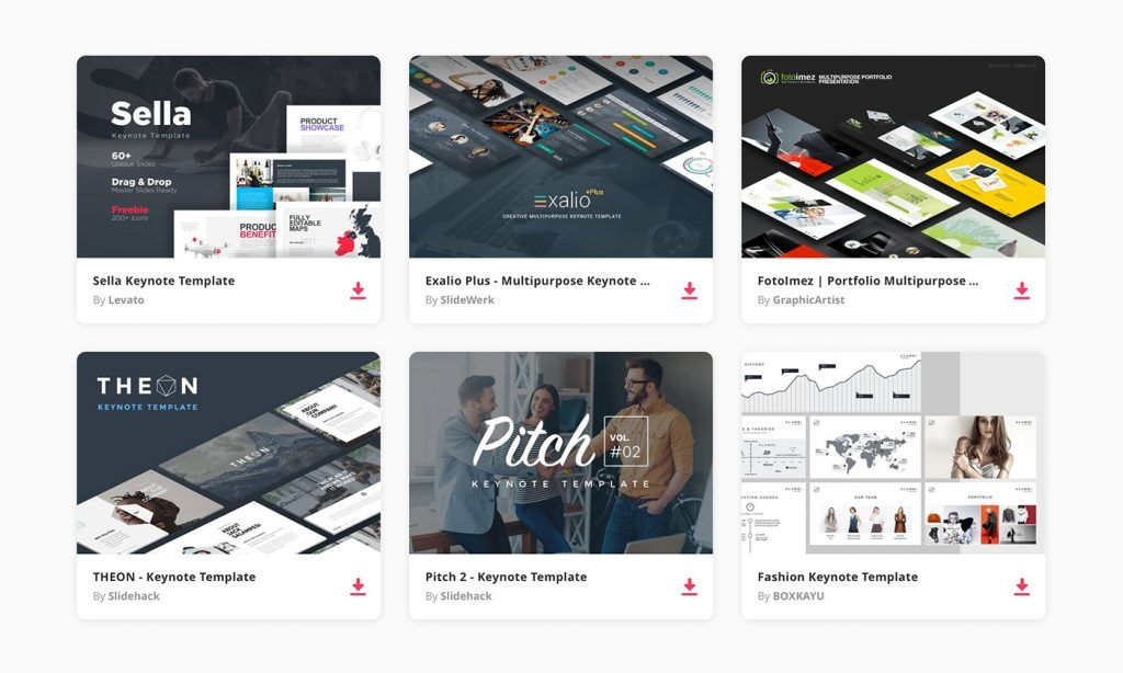 50 Best Keynote Templates Of 2019 Web Design Dreams Pinterest