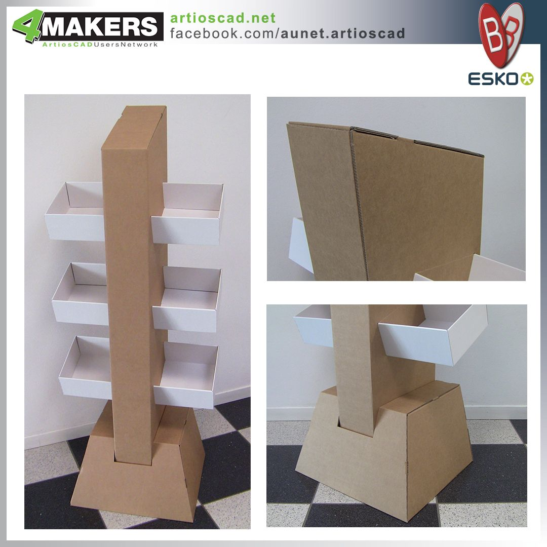 Free Standing Display | ArtiosCAD Display Store Sample Pictures ...