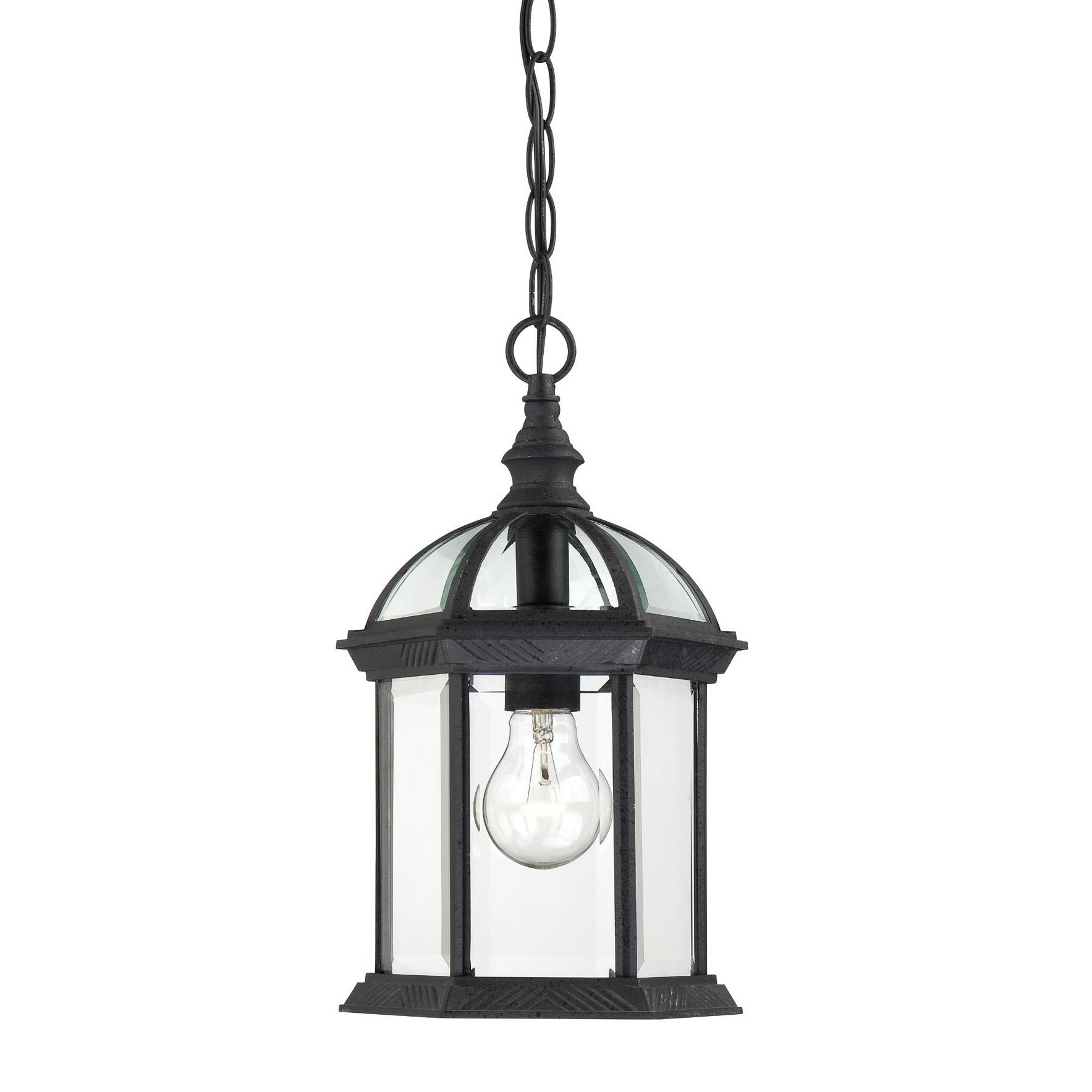 hang this elegant nuvo outdoor lighting fixture over your porch to