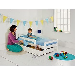 Buy Ellis Toddler Bed Frame With Drawer