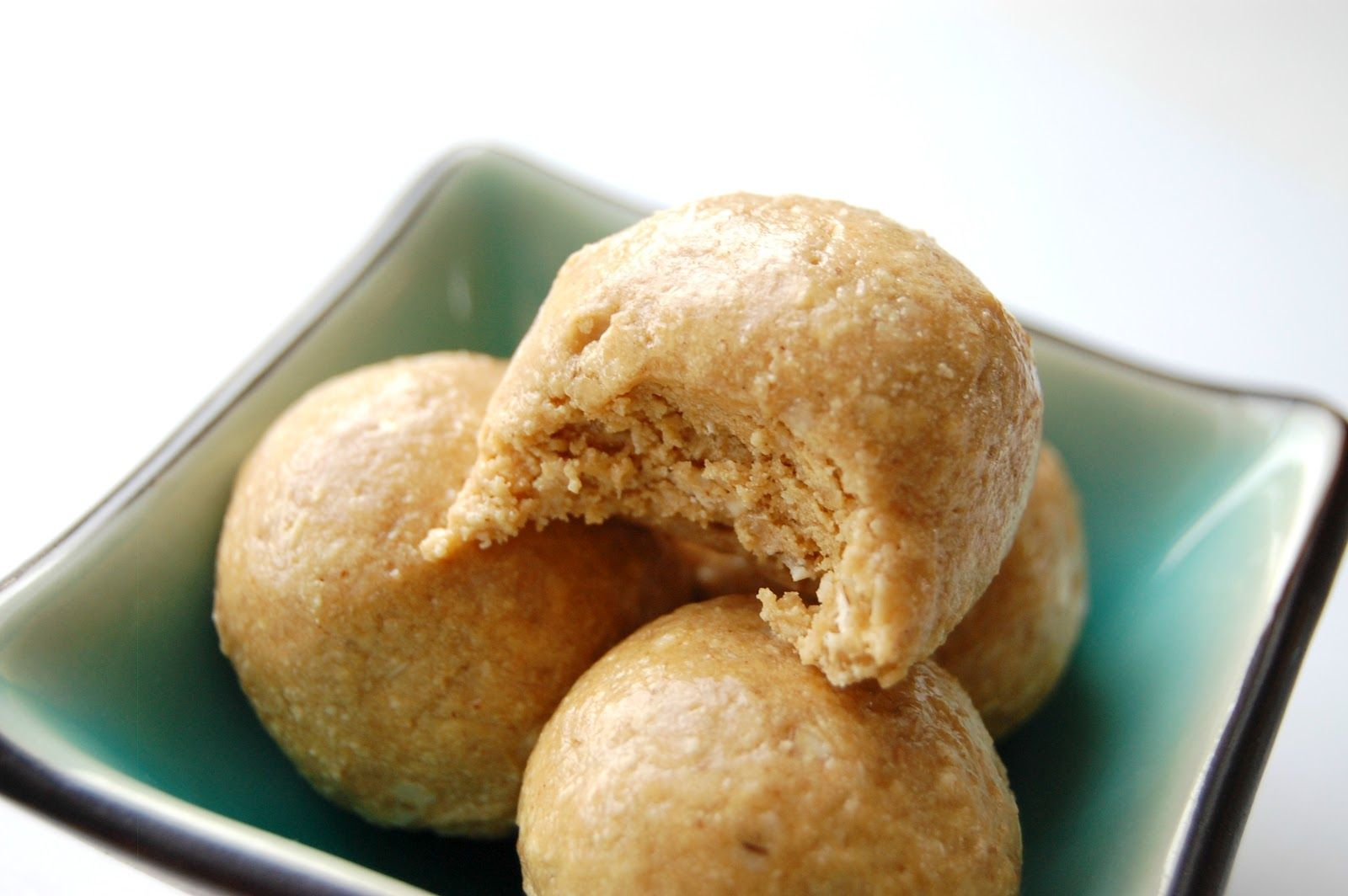 Healthy Peanut Butter Balls 1/2 cup peanut butter 1/2 cup ...