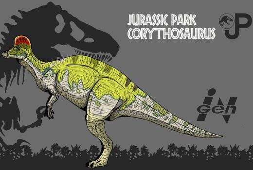 Image result for jp corythosaurus