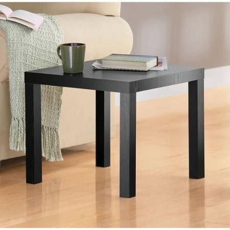 Parsons End Table Multiple Colors Walmart Com End Tables Modern End Tables Espresso End Table