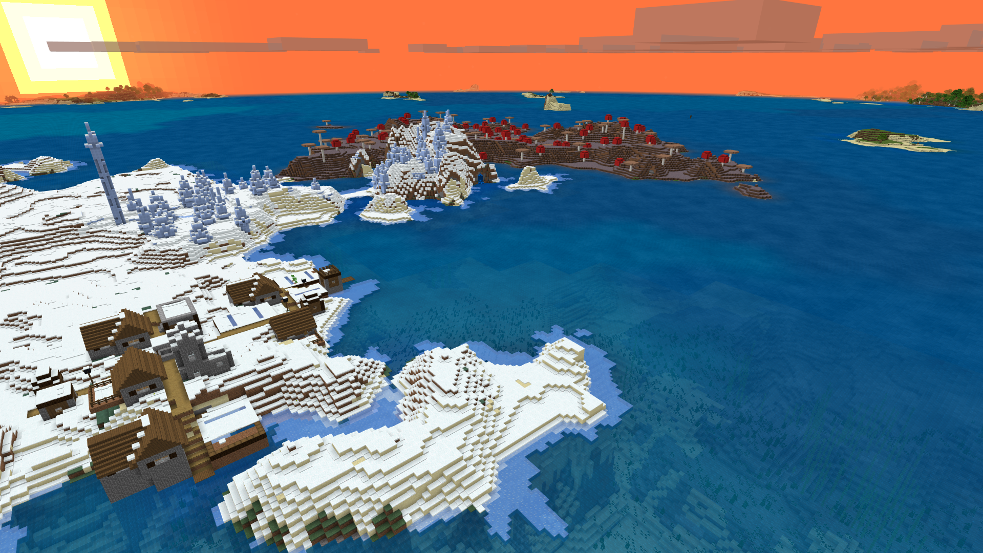Check out this seed that has a 1 Tree Survival Island spawn