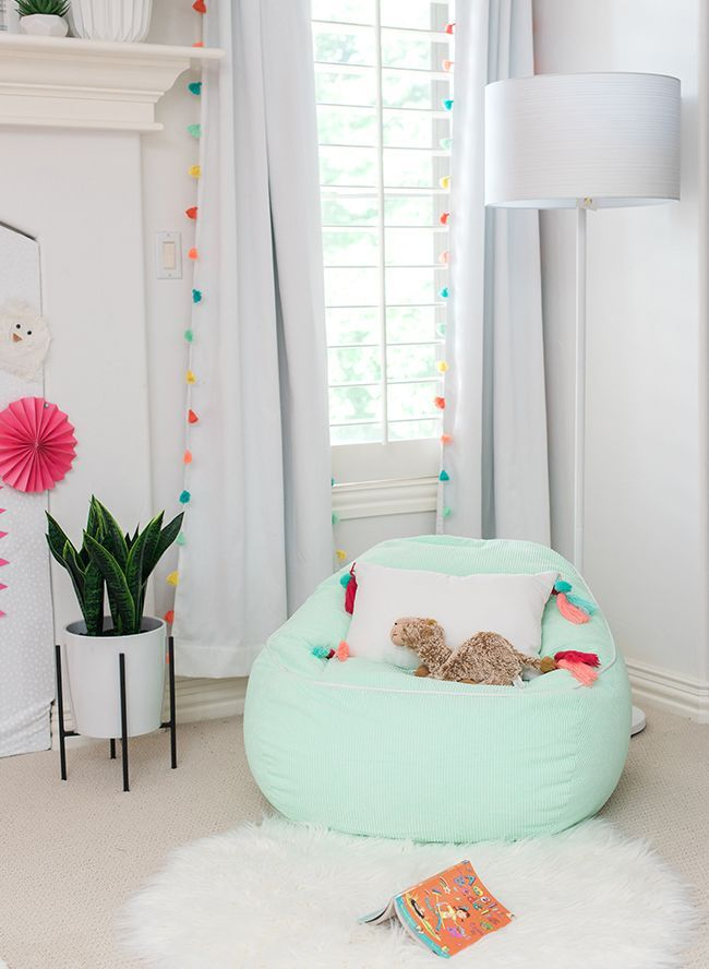 Inspired By This My Girl's Pink Pom Pom Bedroom
