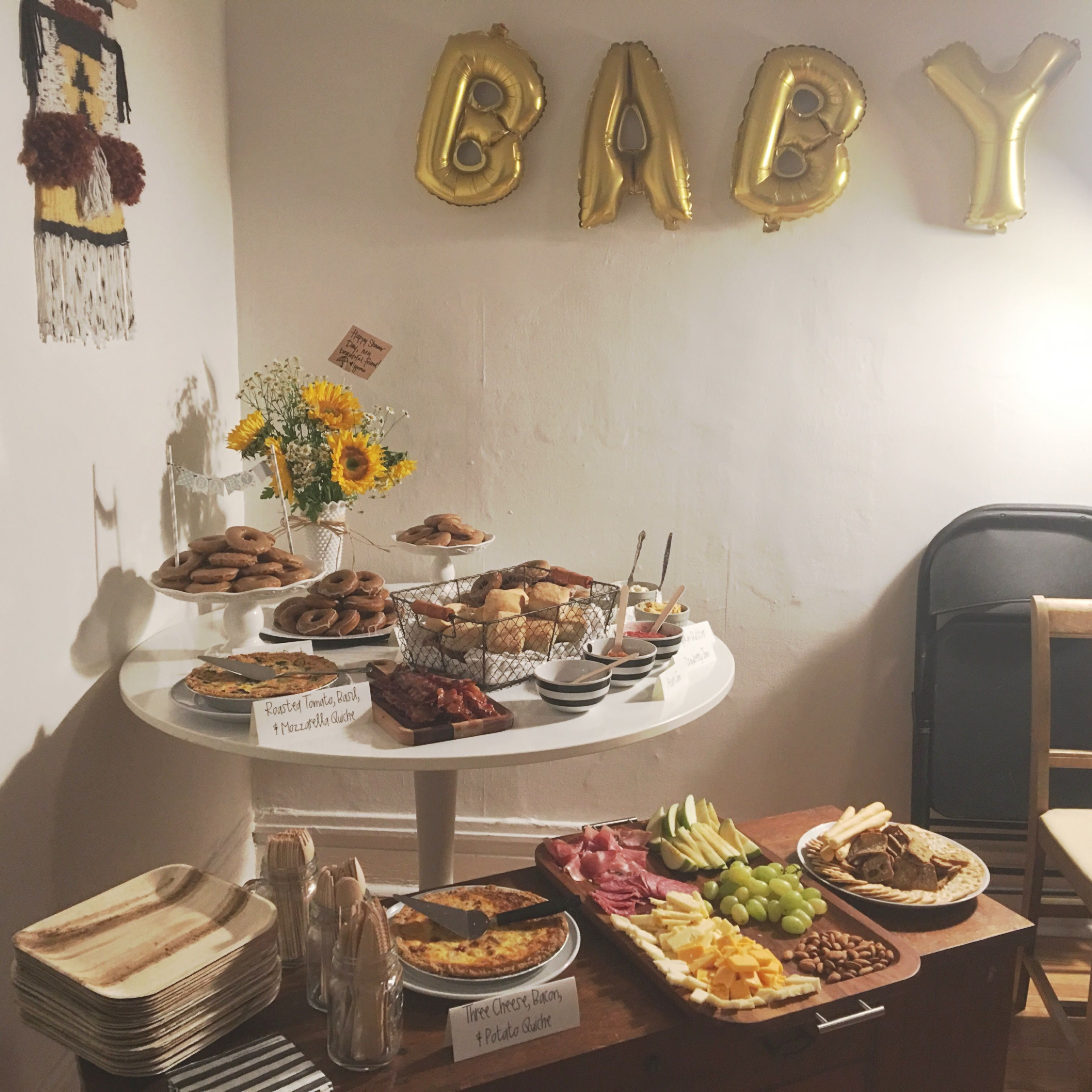Baby Shower In Chicago Three Twigs Bakery Catering Pinterest