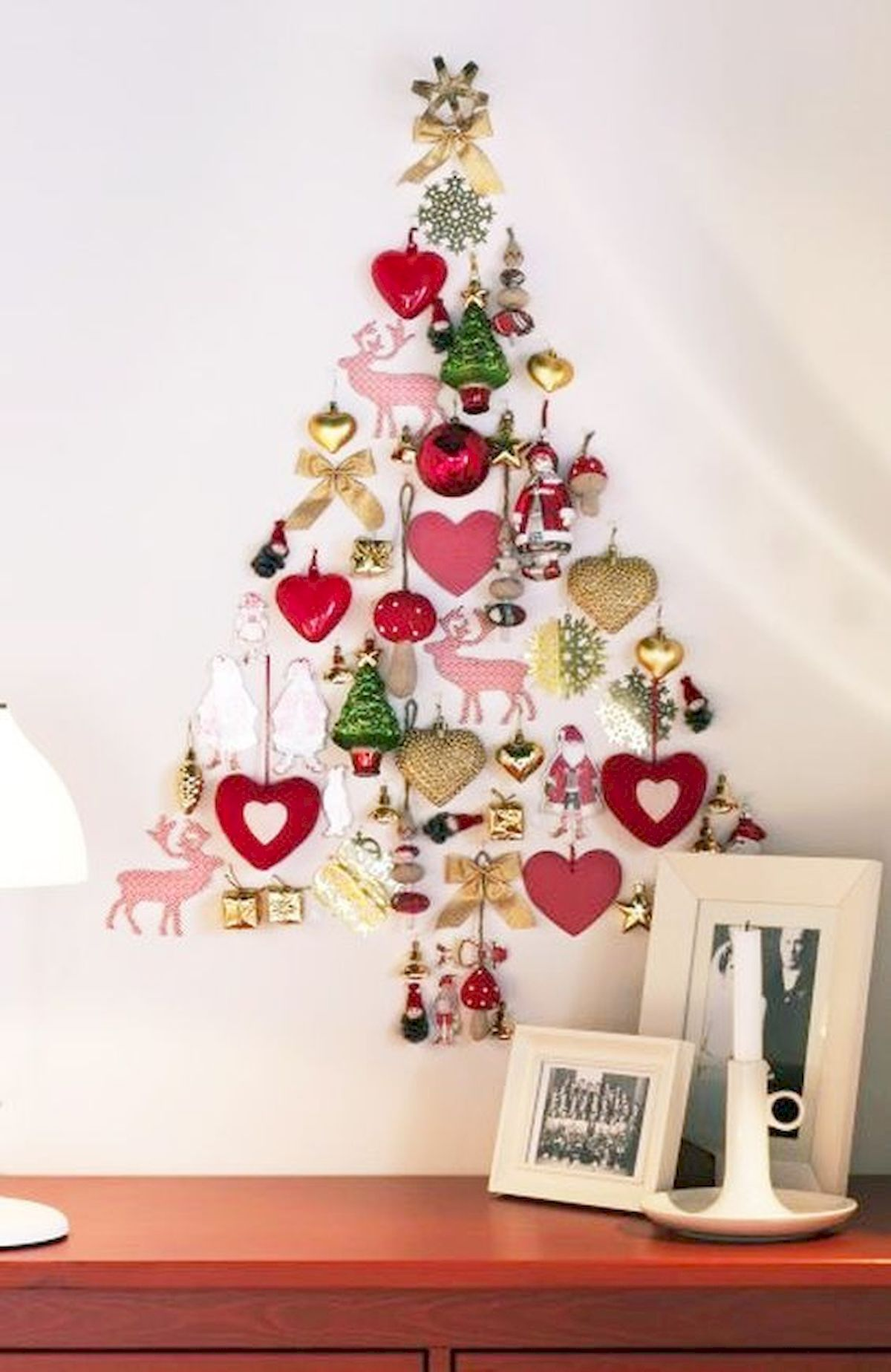 Cool 60 Awesome 2018 Christmas Wall Art Decor Ideas Httpscoachdecorcom