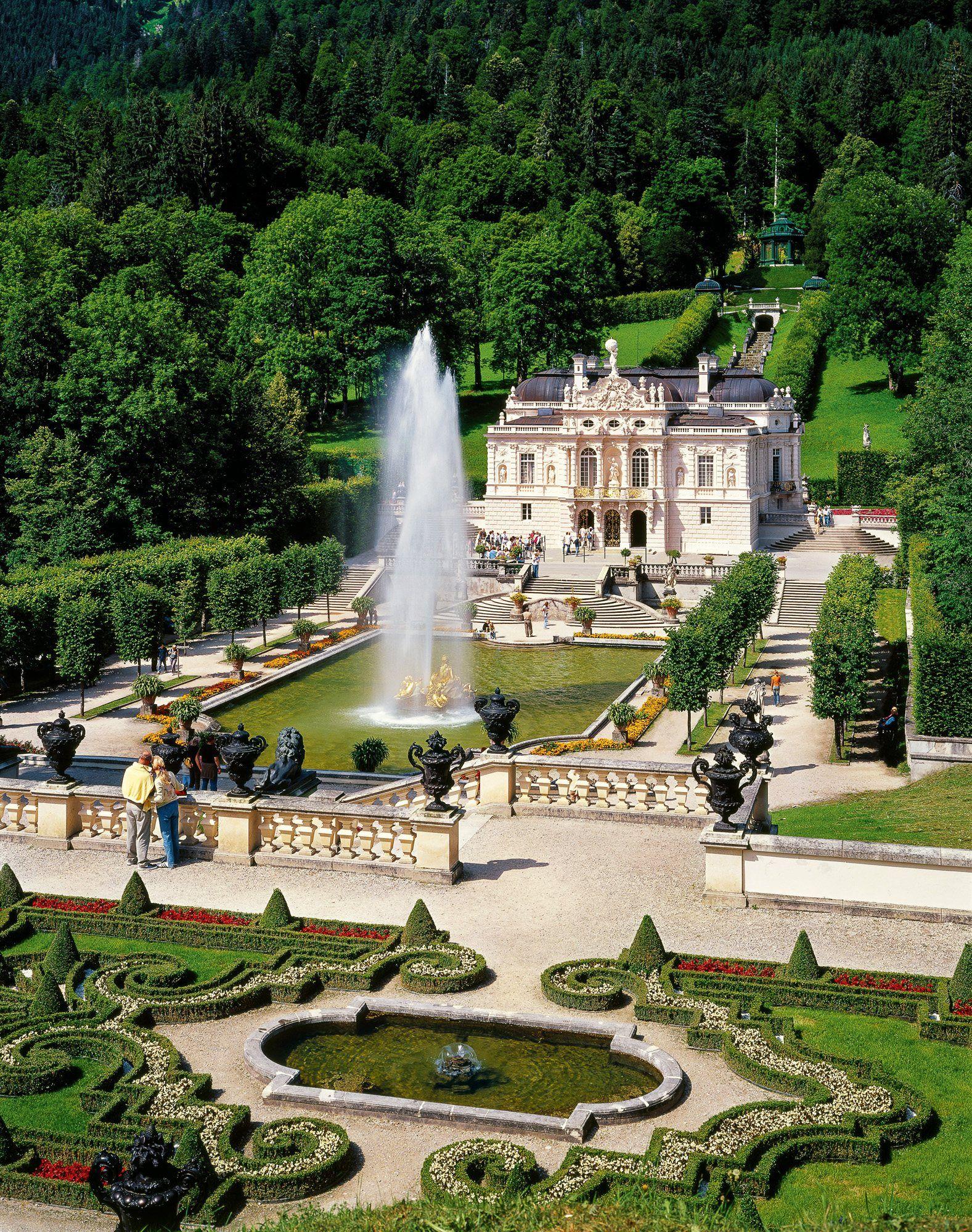Schloss Linderhof Bavaria Germany Cloudheart Germany Castles Germany Travel Bavaria