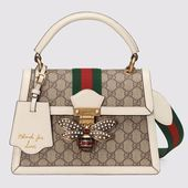 Photo of Gucci GG Women Queen Margaret GG Small Top Handle Bag – LULUX       This image h…