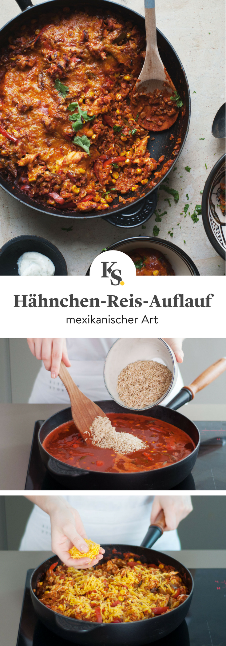 Photo of Mexican Chicken and Rice Casserole Recipe | Kitchen stories