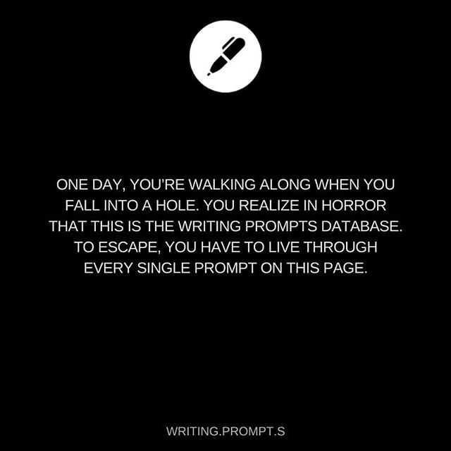Dump of writing prompts