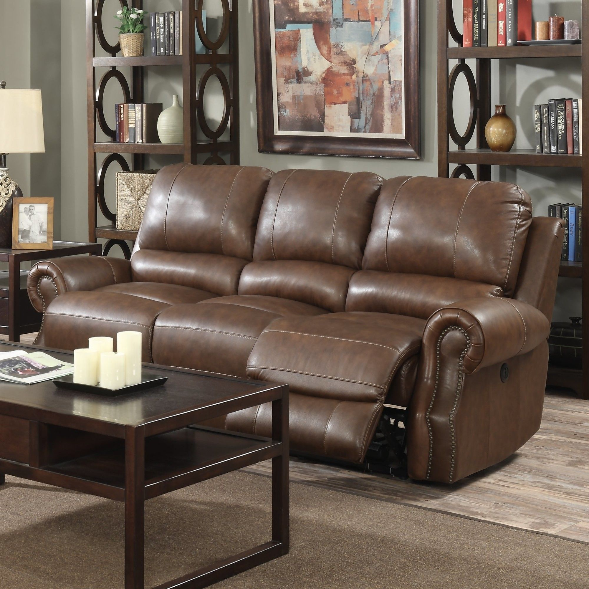 Awe Inspiring Crete Leather Reclining Sofa For The Home Leather Machost Co Dining Chair Design Ideas Machostcouk
