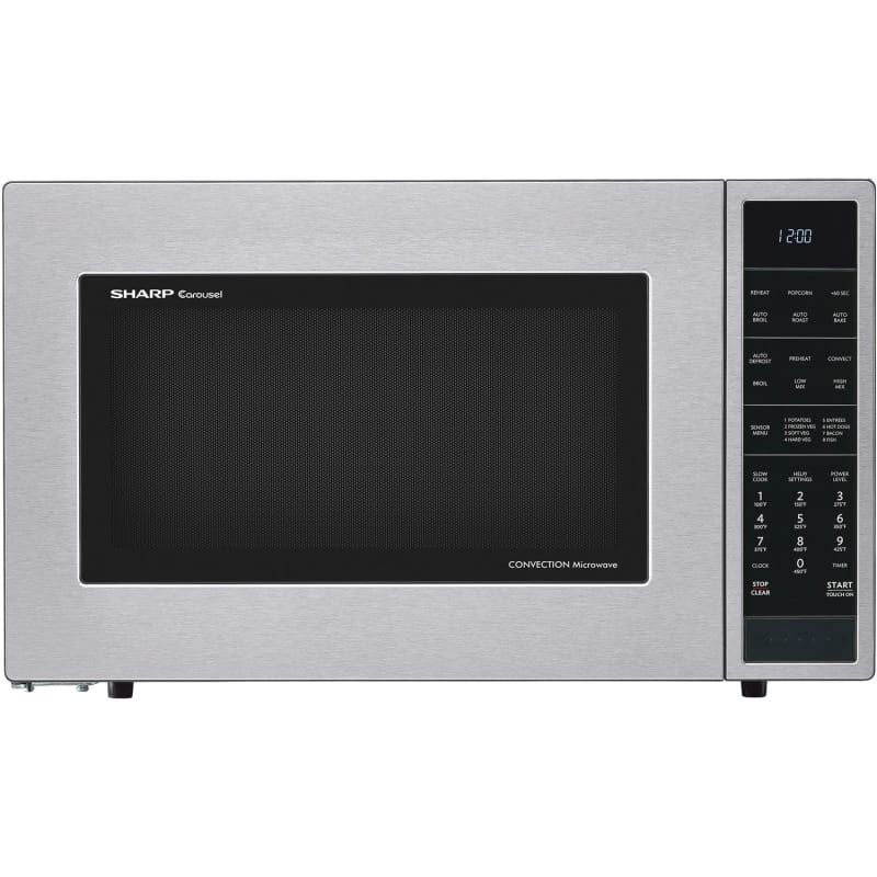 Sharp Smc1585 25 Inch Wide 1 5 Cu Ft Countertop Microwave With
