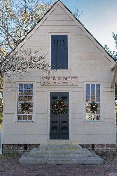 Colonial Williamsburg Christmas.Severinus Durfey Tailoring Colonial Williamsburg Virginia