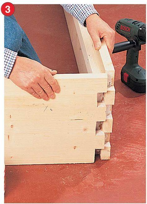 Costruire Letto Contenitore.Come Costruire Un Letto Contenitore In Legno Massello Costruire