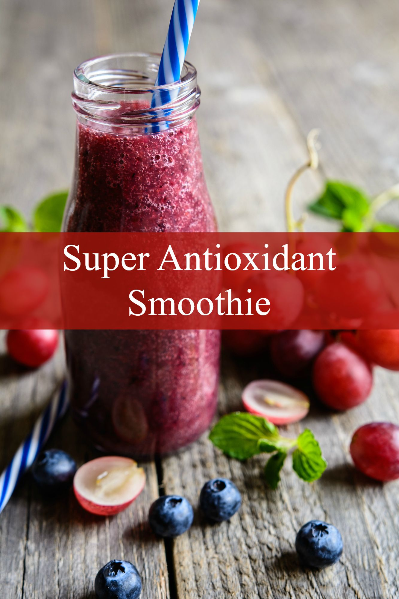 Anti-Aging Antioxidant Smoothie Recipe
